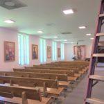 New Lights inside church
