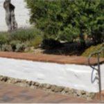 Mission garden wall