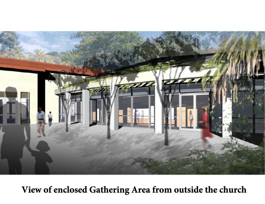 New church gathering area