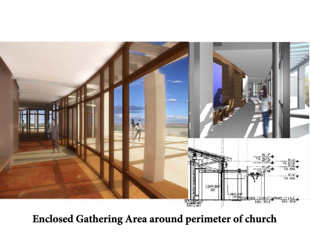 New church perimeter