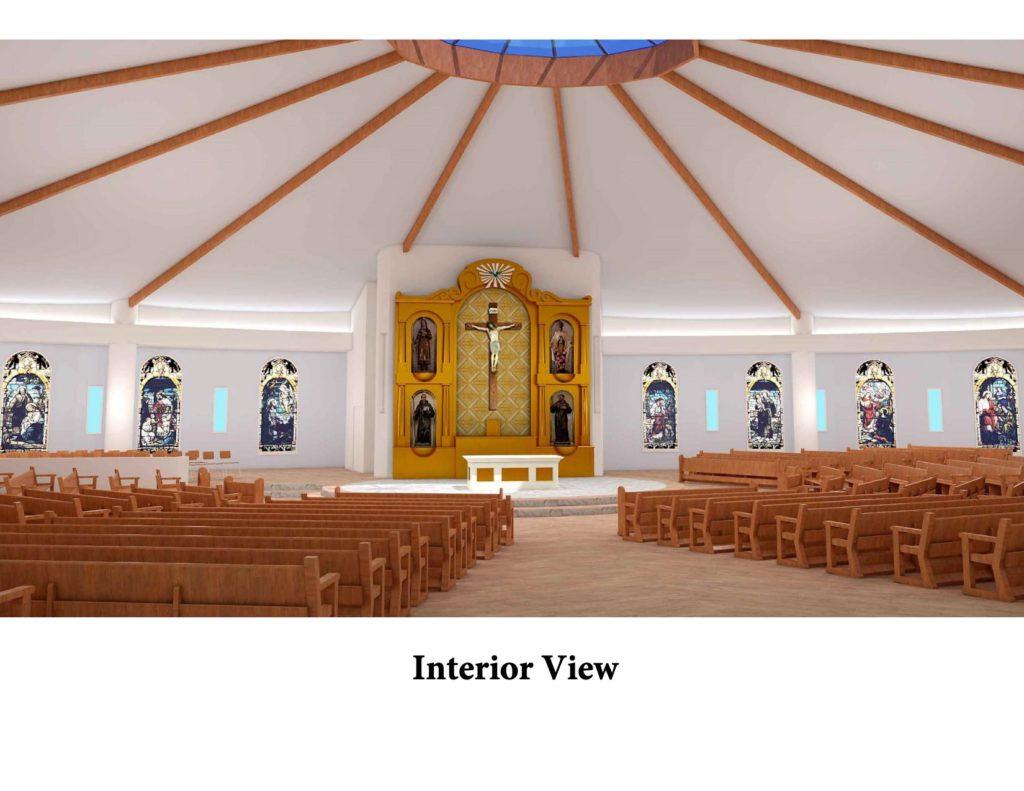 New church interior