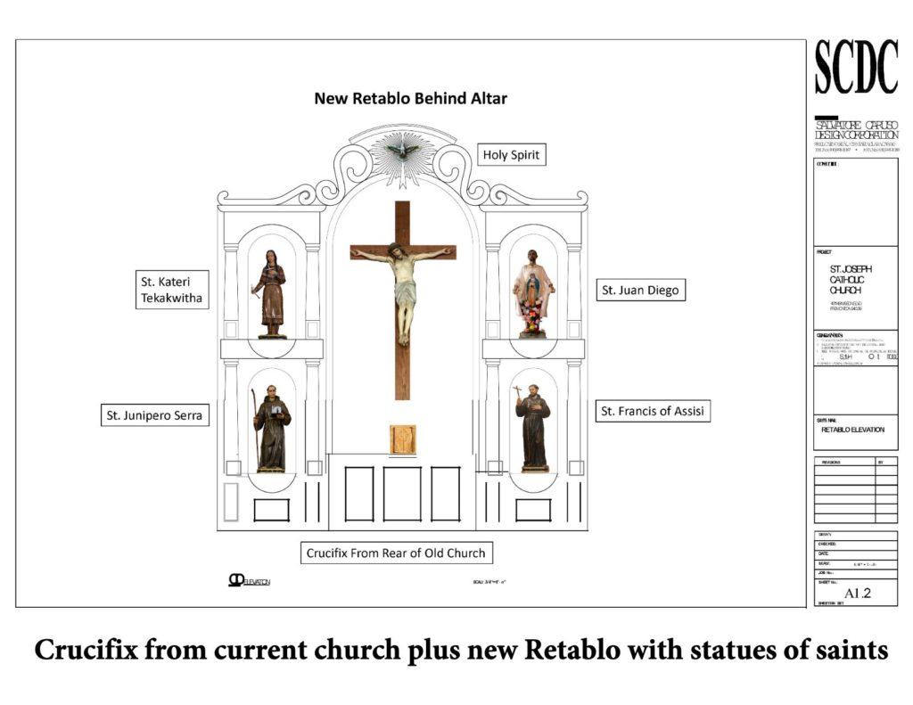 New church altar design