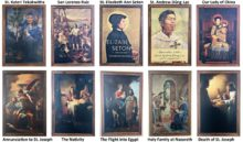 Saint paintings