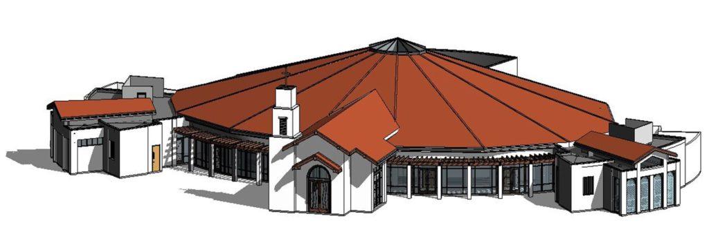 2017 new church rendering