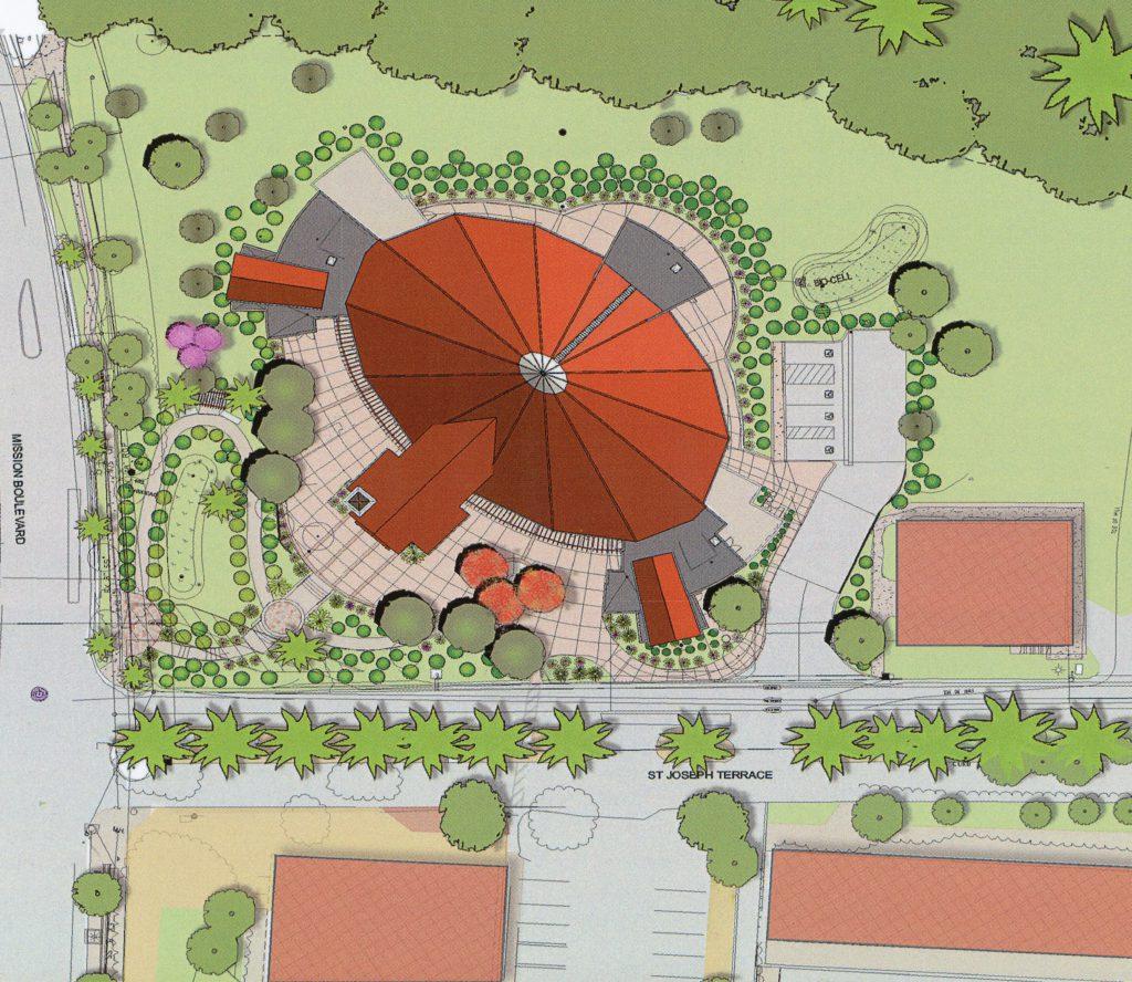 Early 2016 church site plan