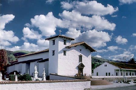 Mission church in 2010