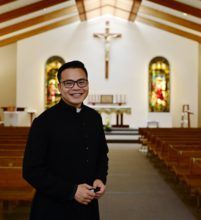 Father Anthony at Saint Joseph