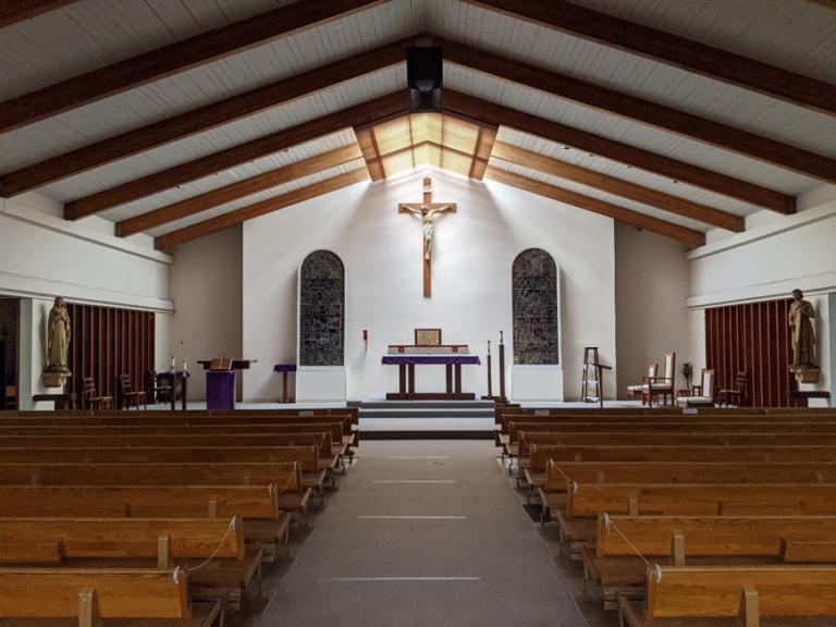 Inside St Joseph Church