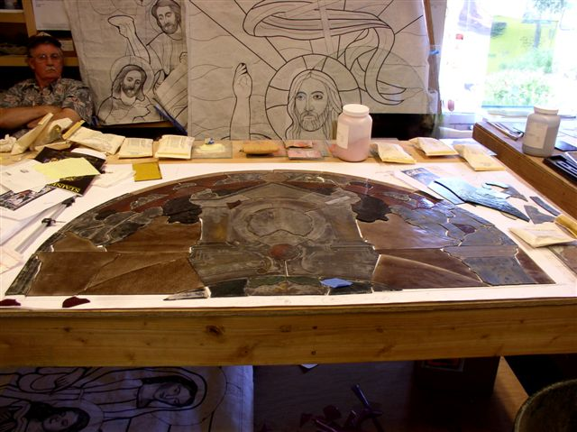 Stain glass reconstruction