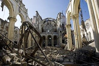 Collapsed Church in Haiti