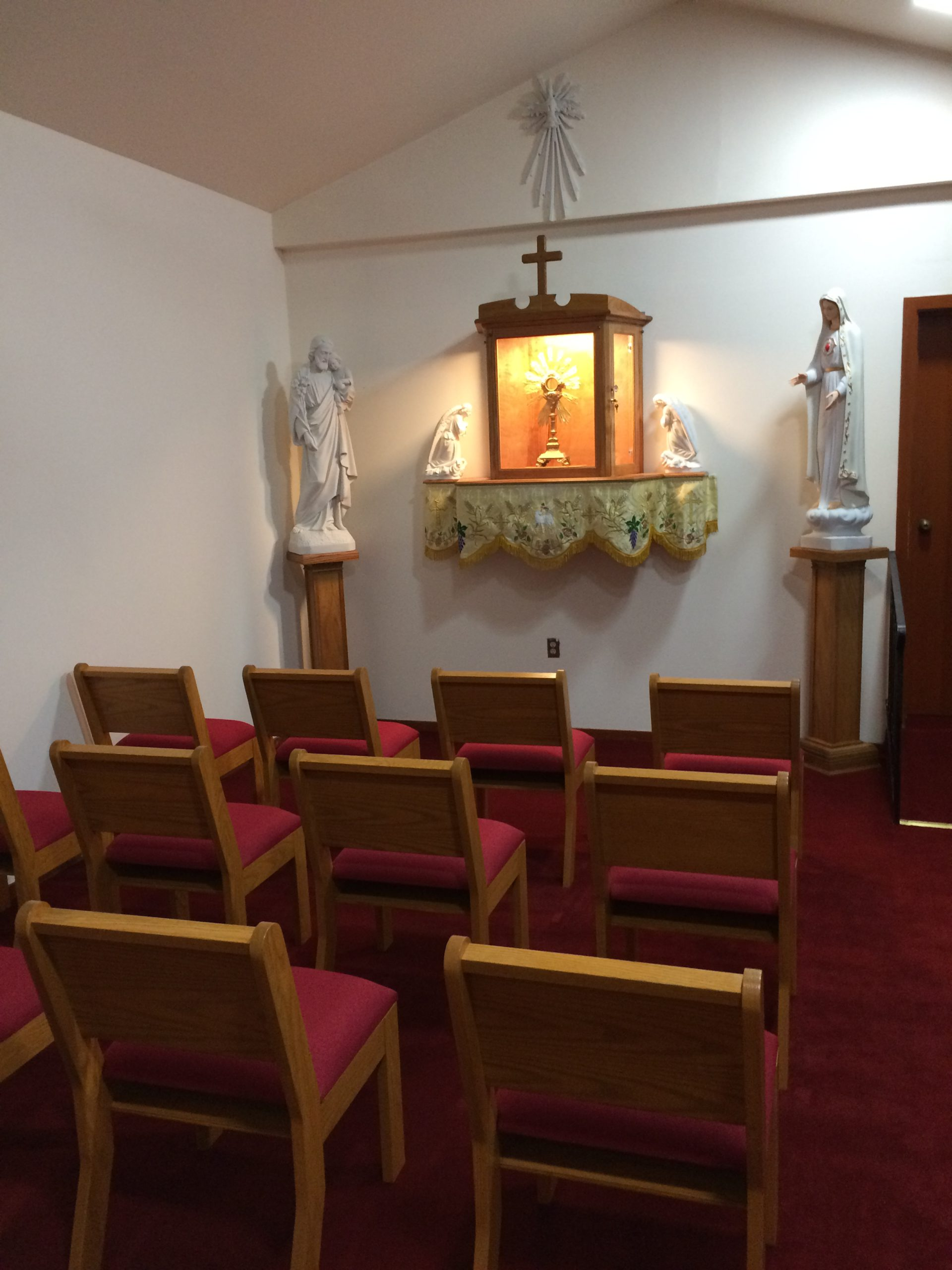 Blessing of the Eucharistic Chapel